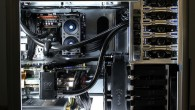 Tiger Custom Computers was commissioned to install a water-cooling solution to get the noise and temperatures under control.
